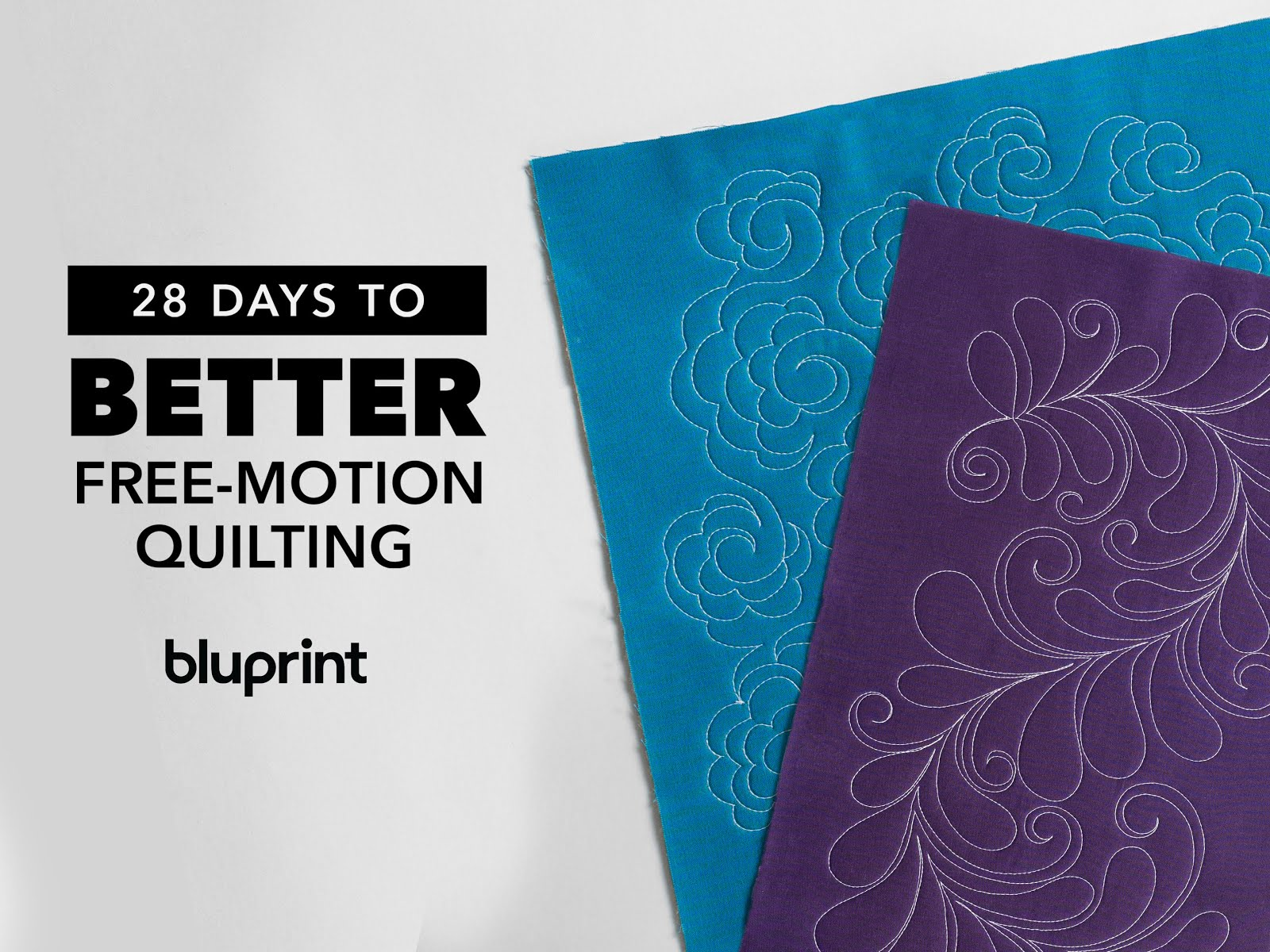 Another Opportunity to Learn Free-Motion Quilting with Bluprint's Instructors