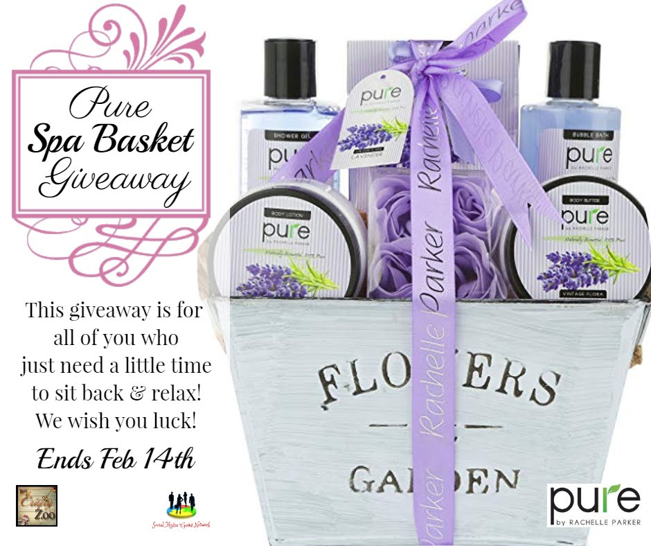 Pure Spa Basket Giveaway