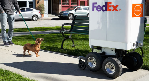 The Future of Delivery Services? See What FedEx Is Doing With Bots