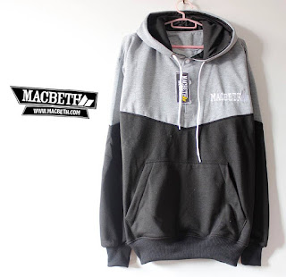 Jaket Fleece Hoodie Macbeth MAC011