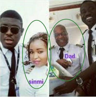 nigerian father children trained pilots