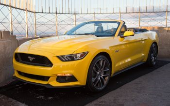 Wallpaper: 2015 Ford Mustang Convertible