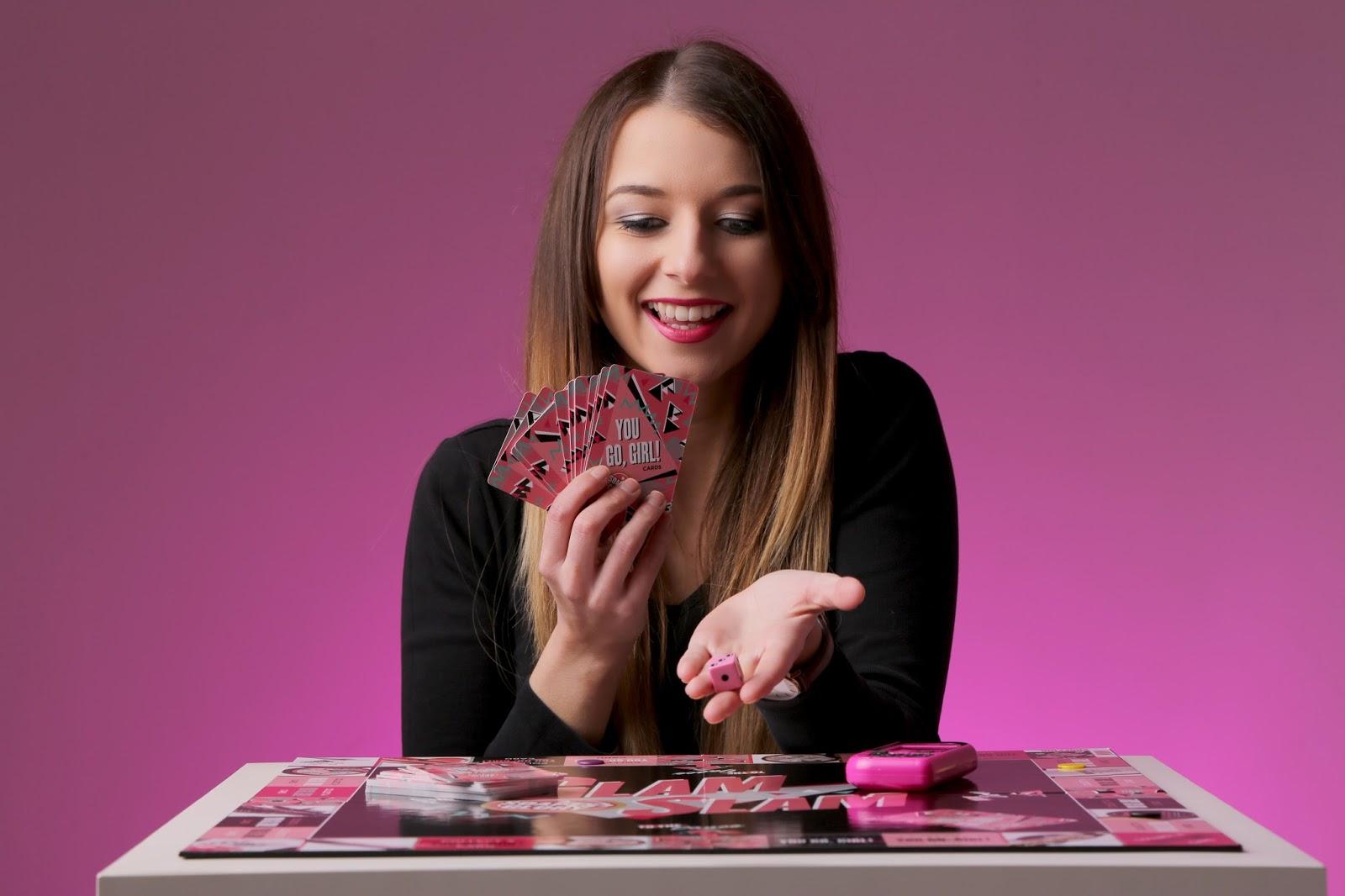 Makeup board game