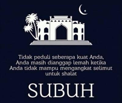 sholat subuh berjamaah di masjid