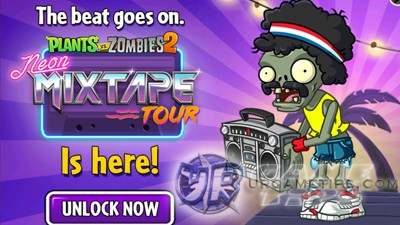 PvZ 2 Neon Mixtape Tour
