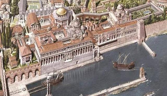 Ετσι ήταν η Κωνσταντινούπολη πριν από την Αλωση, τον Μάιο του 1453