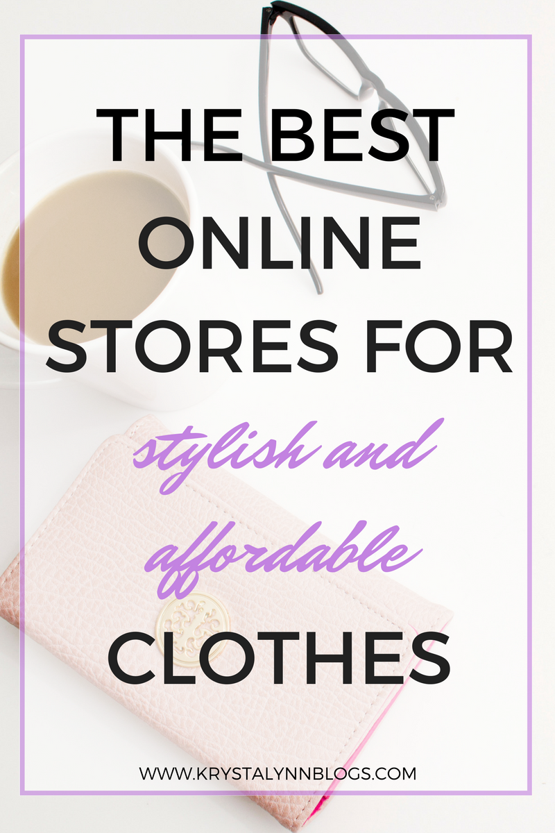 Over my many years of shopping online, I've come up with a list of online stores that I prefer based on their selection of clothing and accessories, price point, and how often they have great deals. Click to find out more.