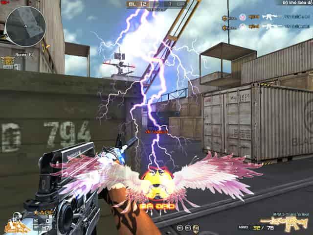 Sử dụng killmark CF trong trò chơi đột kích