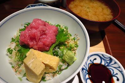 Suju Japanese Restaurant, negitoro don
