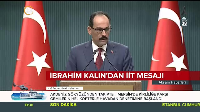 Pylan deja en ridículo a vocero de Erdogan