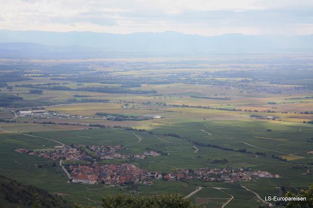 Франция, замок, винная дорога, Верхний Кенигсбург, О-Кенигсбур, Эльзас