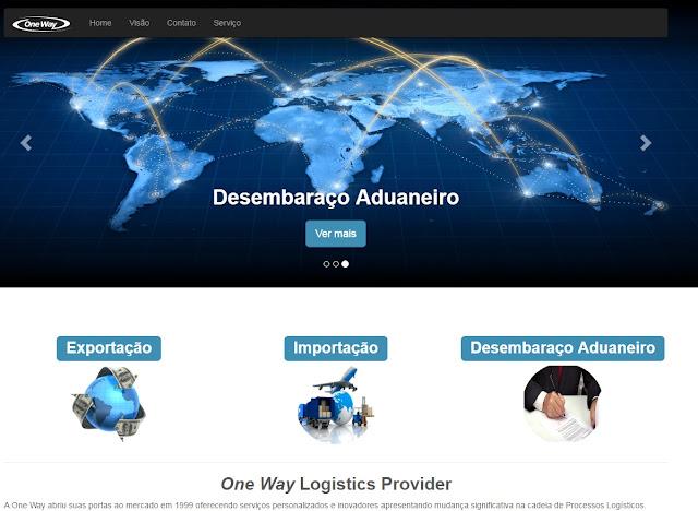 DominioTXT - Site OneWay Logistics