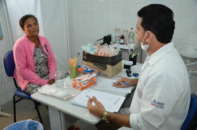 Mutirão preventivo da Prefeitura de Alagoinhas atende mulheres em Portões