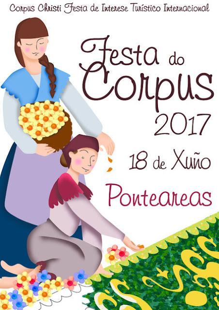 Cartel Ponteareas Corpus