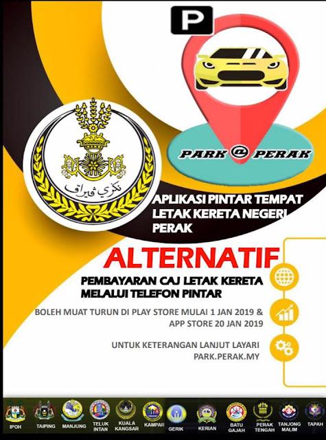 Aplikasi Pintar Letak Kereta Negeri Perak - Park@Perak