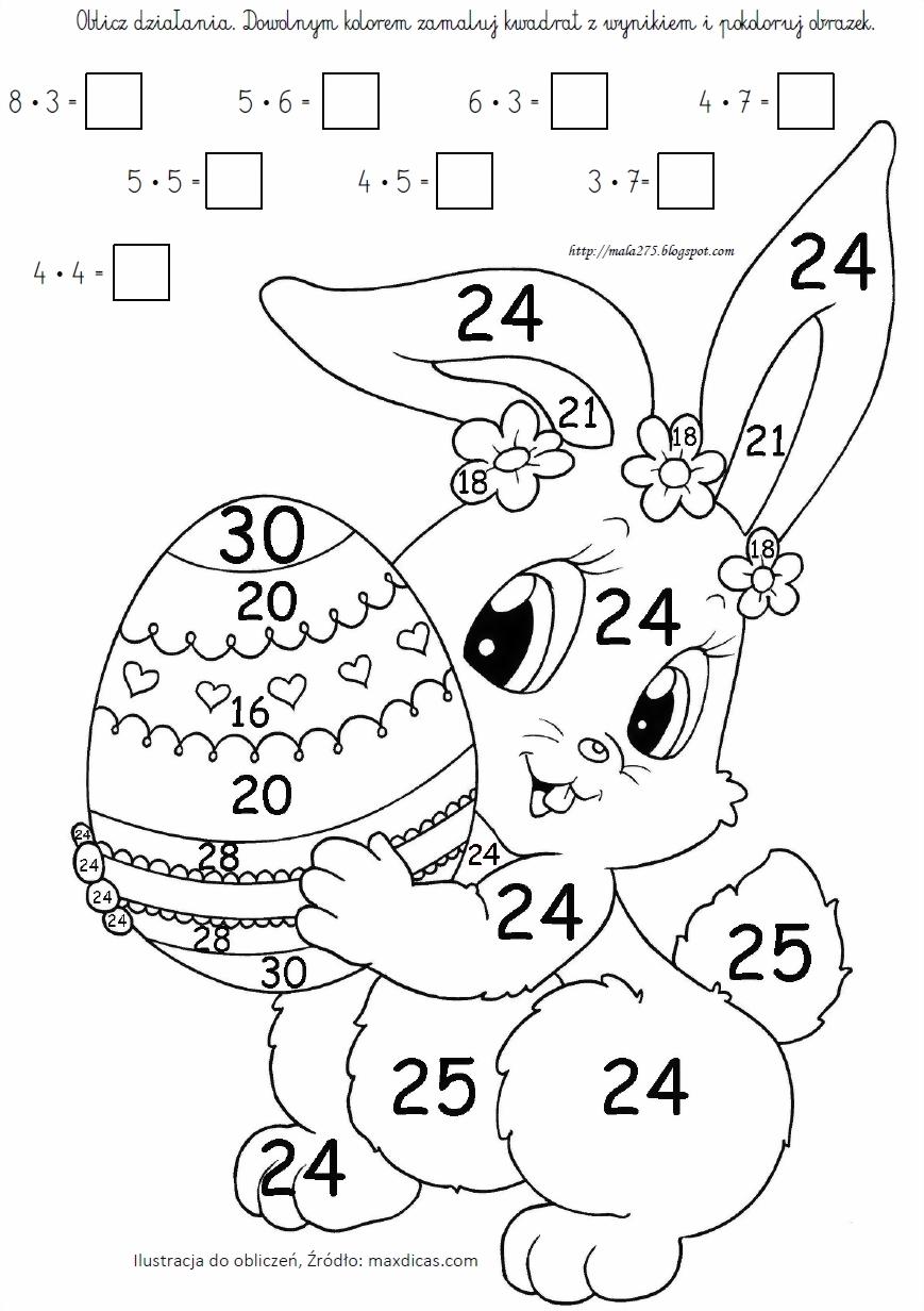 Blog Edukacyjny Dla Dzieci Kolorowanki Matematyczne