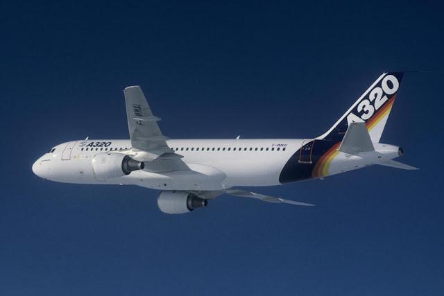 Airbus A320-100 ilk uçuş - Mart 1984