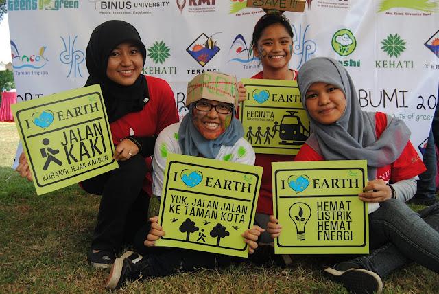 Aksiku untuk Bumi Teens Go Green