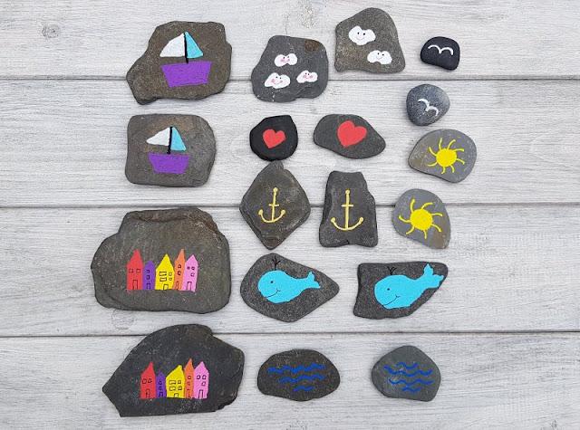 DIY: Ein Steinmemory für Kinder aus bemalten Steinen. Mit meiner Anleitung klappt das ganz einfach!