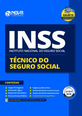 Apostila Concurso INSS 2020 Técnico do Seguro Social Grátis Cursos Online