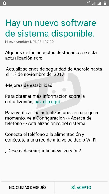 November Security Update Is Now Live For Moto G5 Plus Owners in South America