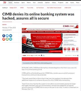 CIMB Clicks Hacked ? Please read this 9