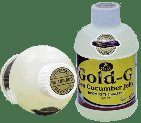 Read more...  http   khanzabeautyshop.com jelly-gamat-gold-g-sea-cucumber.html Jelly  Gamat Gold G Sea CucumberMengetahui Manfaat Teripang Gamat (Timun ... 5bccc59022