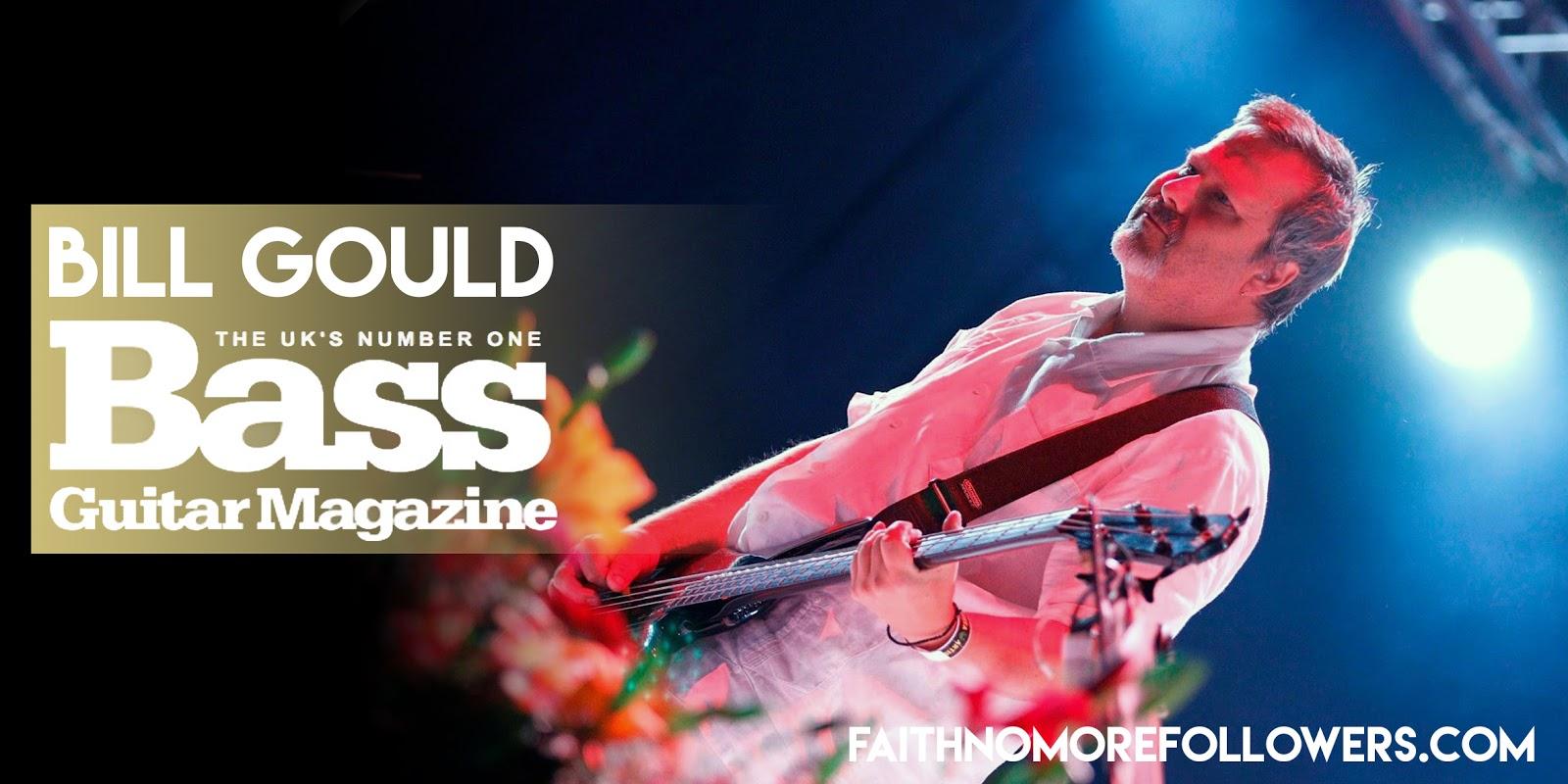 BILL GOULD   August 2015   Bass Guitar Magazine Jon Gould Guitar