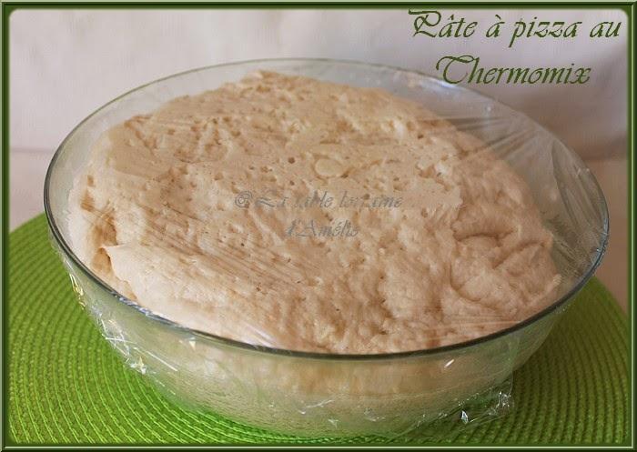 la table lorraine d amelie p 226 te 224 pizza au thermomix ou pas
