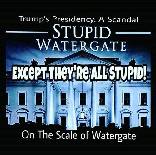 Stupid Watergate #TrumpRussia