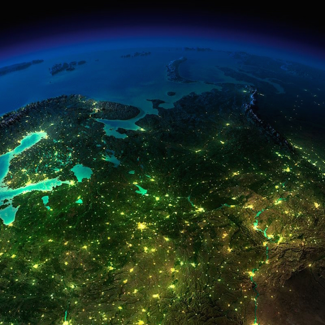 صور مذهلة للأرض التقطت ليلاً من الفضاء الخارجي بواسطة وكالة الفضاء الأمريكية ناسا 2
