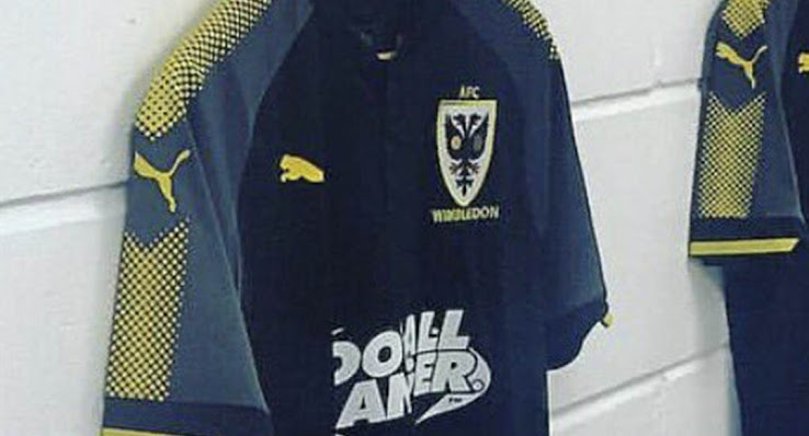 31dc049d611 What do you think of AFC Wimbledon s new Puma third kit  Let us know in the  comments below.