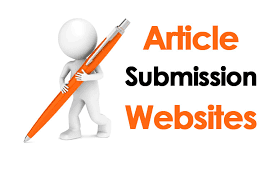 TOP 50 High PR Article Submission Sites Lists By Traffic