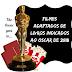 Filmes Adaptados de Livros Indicados ao Oscar de 2018