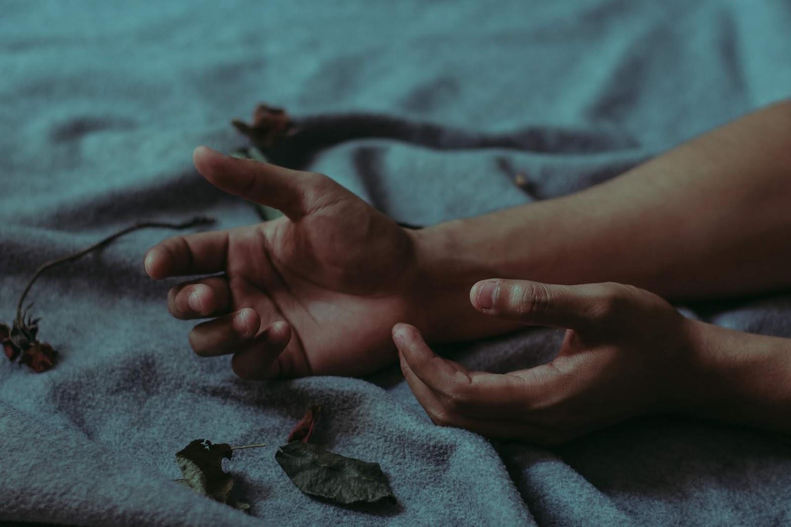Mãos tumblr