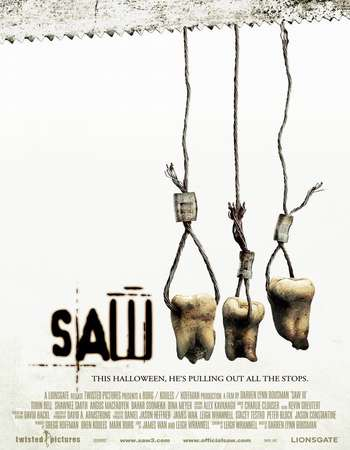 Saw III 2006 English Full Movie BRRip // 480P // 500MB // Download/watch online