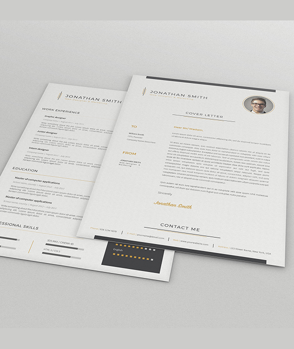 Professional Resumes / CV Templates