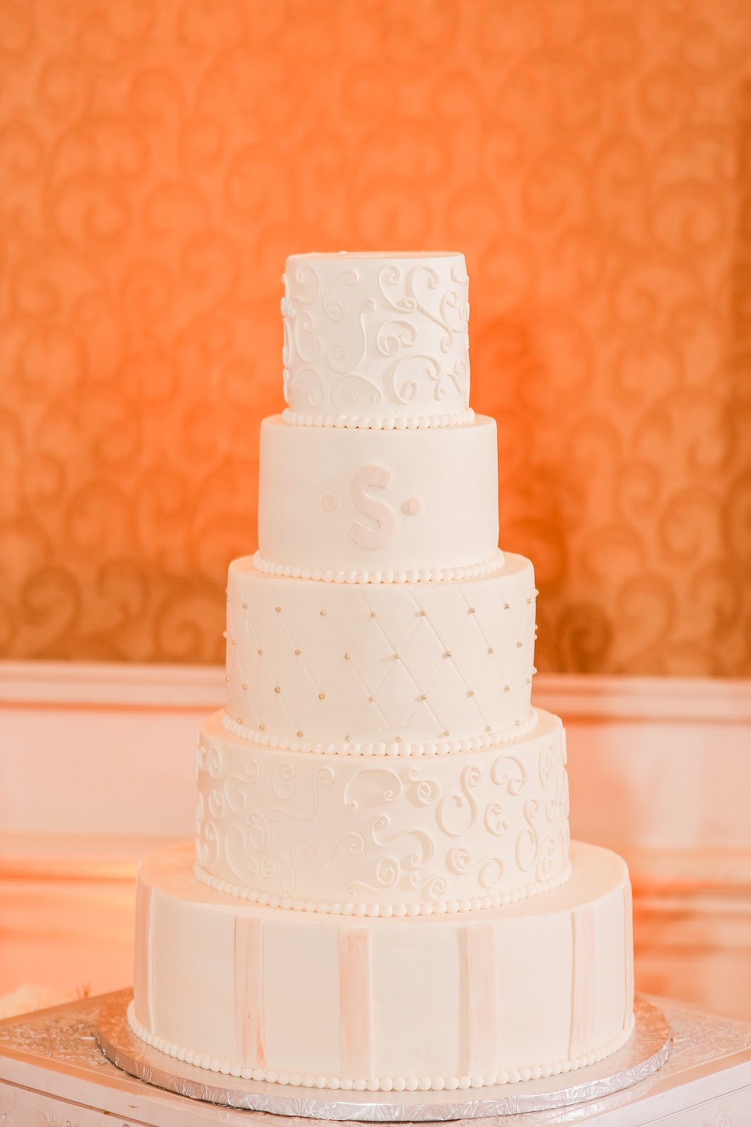 tiered wedding cake Creative Cake Factory Florida