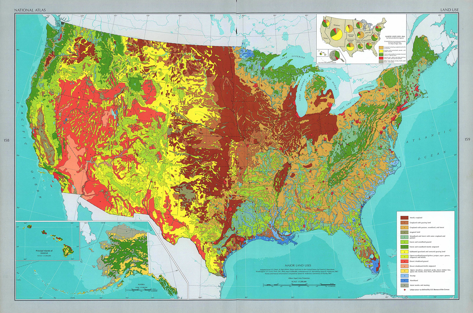Run Usa Map.Usa Land Use Map 1970 Romney And Ryan Are Running On A Secret Plan