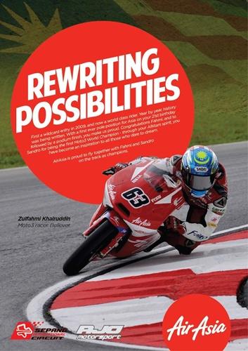 Rewriting Possibilities - Tahniah Buat Muhammad Zulfahmi Khairuddin!