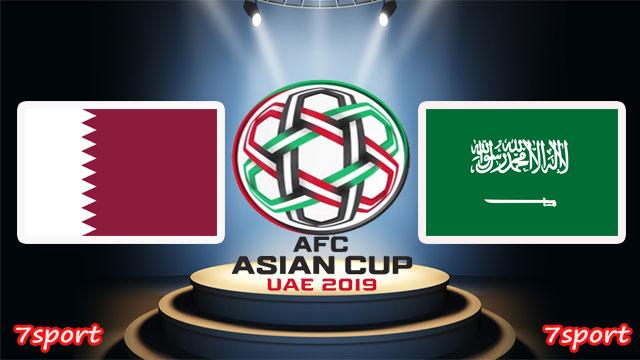 موعدنا مع  مباراة السعودية وقطر بتاريخ 17/01/2019 كأس اسيا
