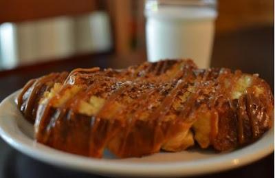 dulce de leche toast - roti bakar sederhana