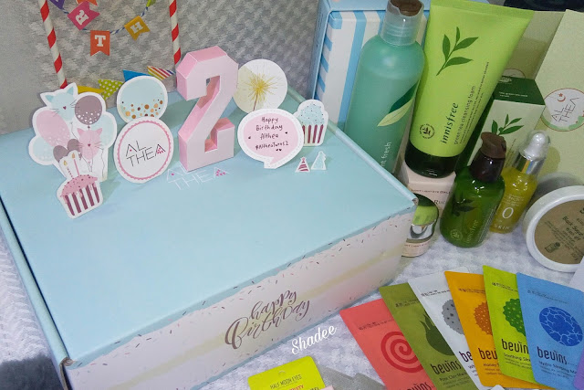 Althea Birthday Box