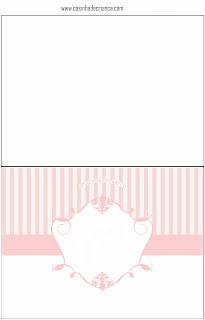 Kit Festa Casamento Rosa Para Imprimir Grátis