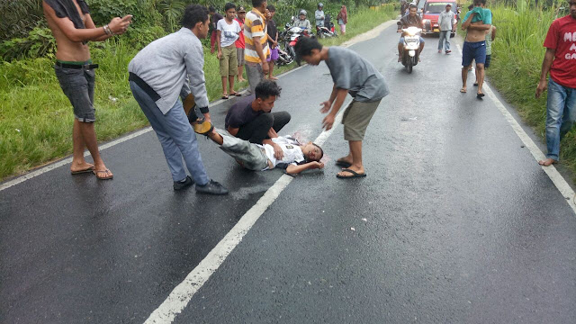 Pelajar SMA Methodist Siantar yang tewas kecelakaan.