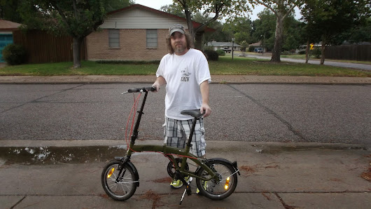 "16"" Fold up Bicycle and Bruce Van Sant"