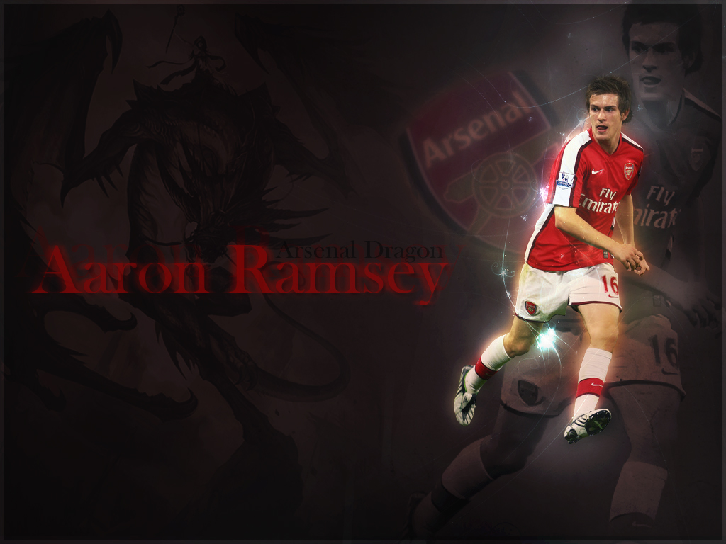 World Sports Hd Wallpapers: Aaron Ramsey Hd Wallpapers Arsenal