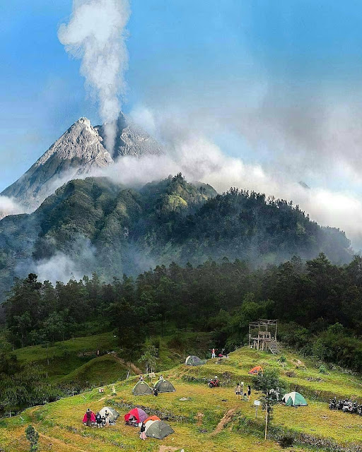 Pesona wisata bukit klangon Merapi Yogyakarta