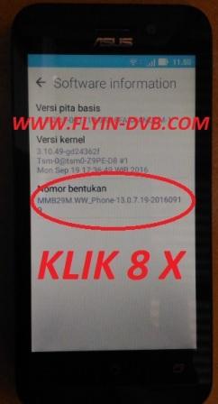 bypass email verifikasi ASUS_X009DA (ZB450KL) Tahap 10