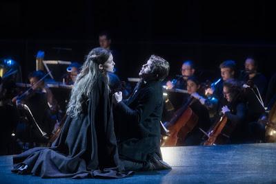 Debussy: Pelléas et Mélisande - Chiara Skerath, Stanislas de Barbeyrac - Opéra de Bordeaux (Photo Julien Benhamou)
